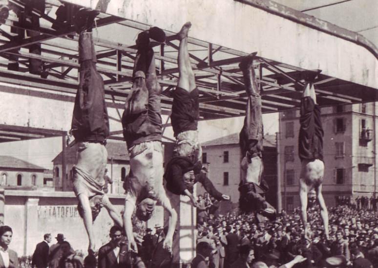 Claretta Petacci et de Benito Mussolini