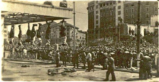 Claretta Petacci et de Benito Mussolini4